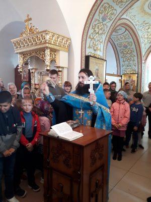 В Димитриевском храме Каменки состоялся второй молебен перед началом учебного года