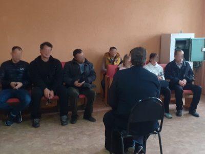Протоиерей Антоний Шварев провел духовную беседу с осужденными