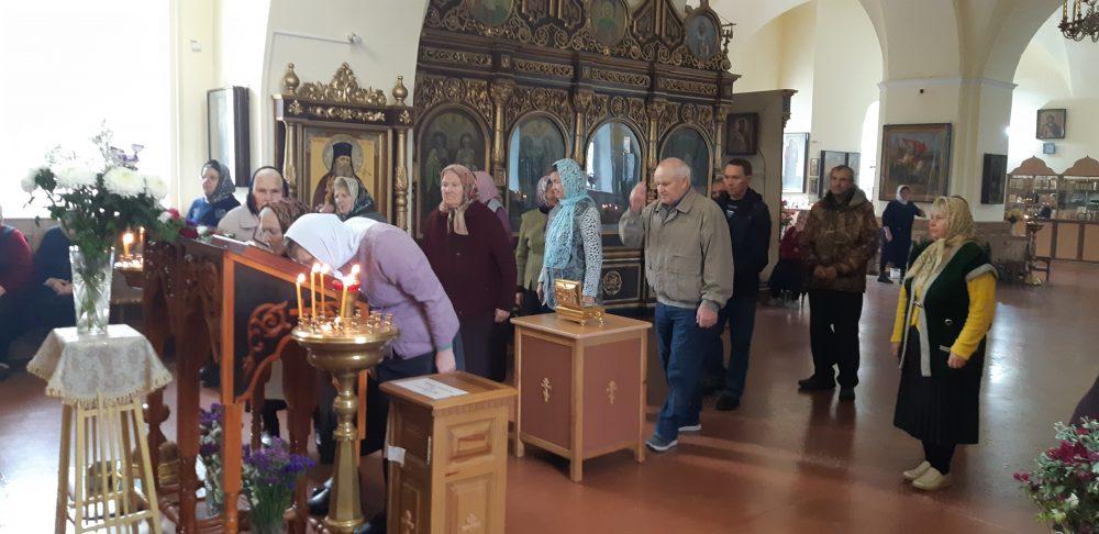 В Мокшанском благочинии поклонились мощам святителя Иннокентия Пензенского