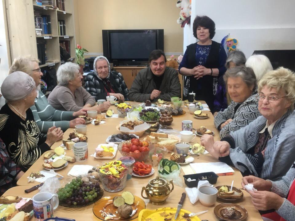 День пожилого человека отметили в Покровском архиерейском соборе