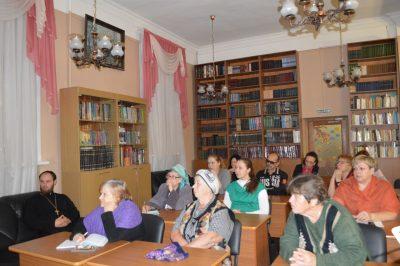 В рамках православного лектория пензенцам рассказали об истории Пензенской епархии и Императорского Православного Палестинского общества