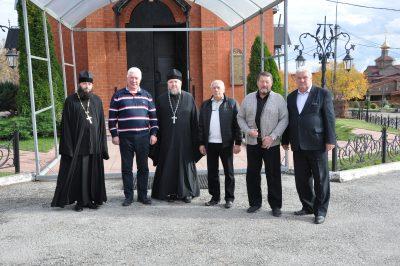 Ректор Пензенского государственного университета посетил Нижнеломовский Казанско-Богородицкий мужской монастырь