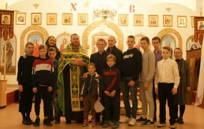 В храме Петра и Февронии состоялся молебен для участников первенства России по каратэ