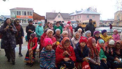 В праздник Покрова Пресвятой Богородицы в Городище состоялся праздничный концерт