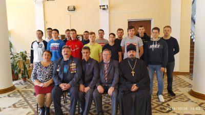 Священник благословил призывников Нижнеломовского района на воинскую службу