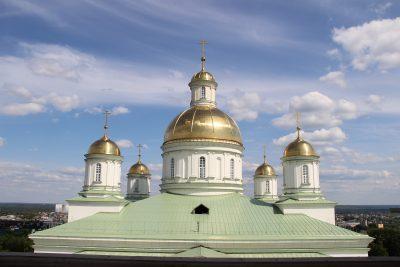 Гости Пензенской епархии посетили Спасский кафедральный собор