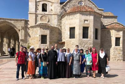 Делегация Пензенской епархии приняла участие в мероприятиях по случаю возрождения паломнического маршрута Россия – Кипр – Святая Земля