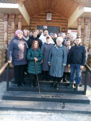 Престольный праздник отметили в Михайло-Архангельском храме села Вышелей