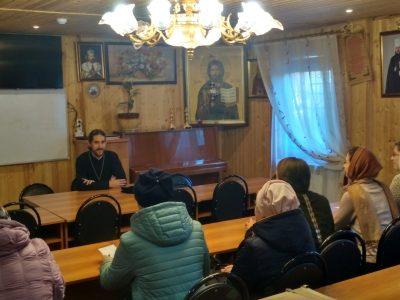 Состоялось собрание помощников настоятелей по социальному служению и милосердию Бессоновского района