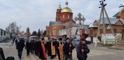 В Мокшанском благочинии состоялся крестный ход, посвященный памяти священномученика Павлина (Крошечкина)