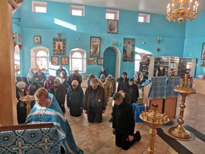 В Городище молитвенно почтили память иконы Божией Матери «Скоропослушница»