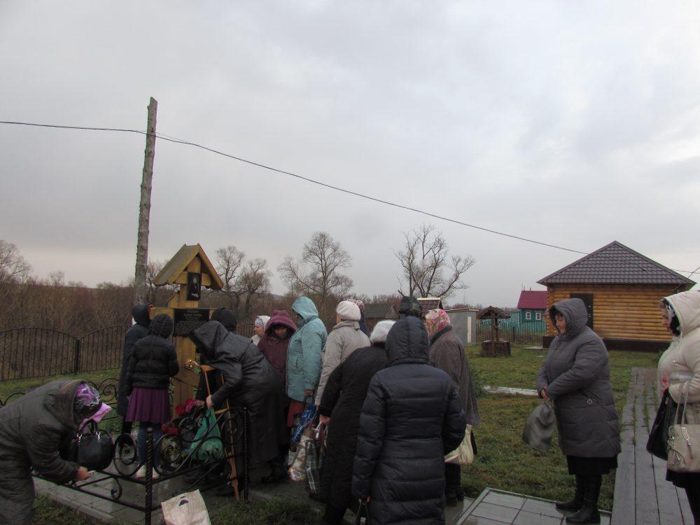 В селе Вышелей почтили память монахини Алипии Голосеевской