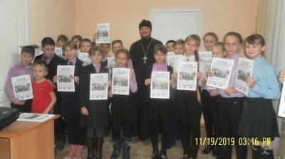 Священник рассказал школьникам о православных храмах Мокшана