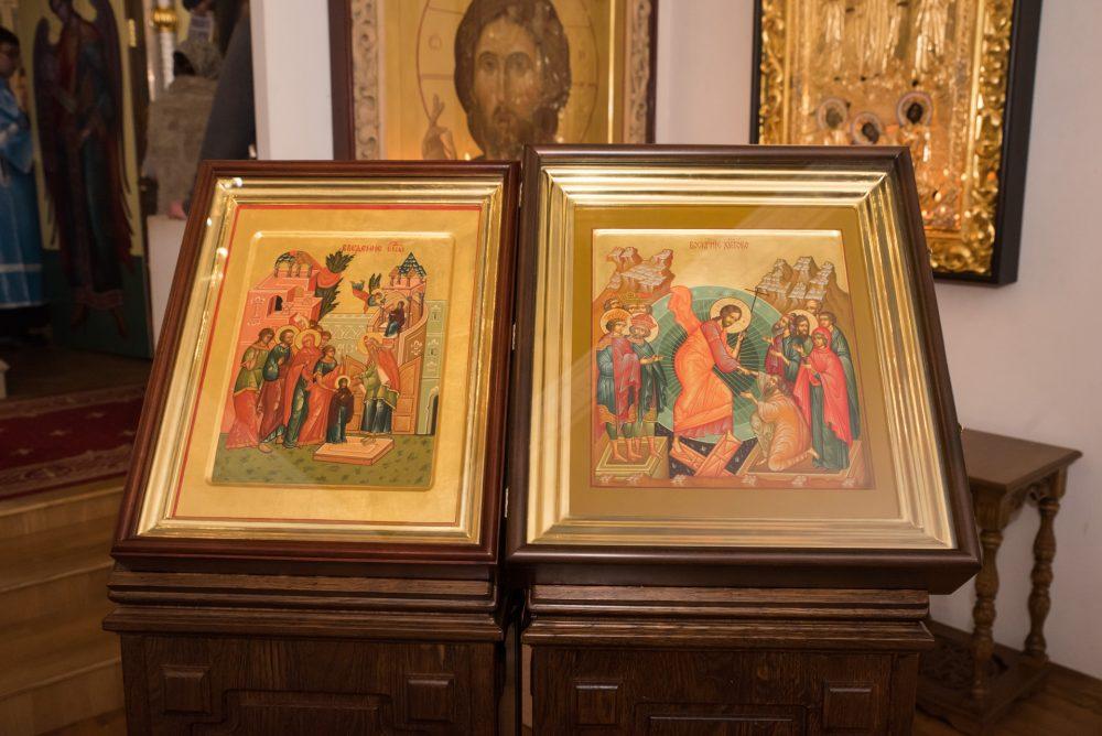 В канун Недели 25-й по Пятидесятнице митрополит Серафим совершил всенощное бдение в Спасо-Преображенском мужском монастыре