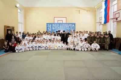 С молебна начался Ежегодный Георгиевский фестиваль боевых искусств Пензенской области