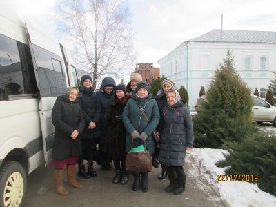 Пензенские паломники посетили Свято-Троицкий мужской монастырь в селе Большое Чуфарово
