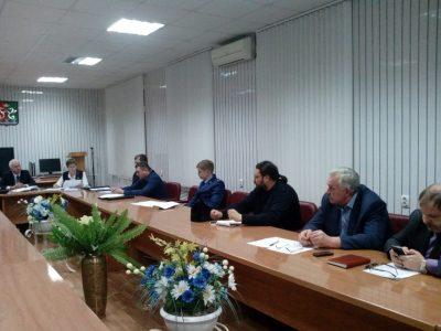 Священнослужитель принял участие в заседании антинаркотической комиссии