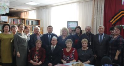 Священник принял участие в заседании Совета ветеранов Городищенского района