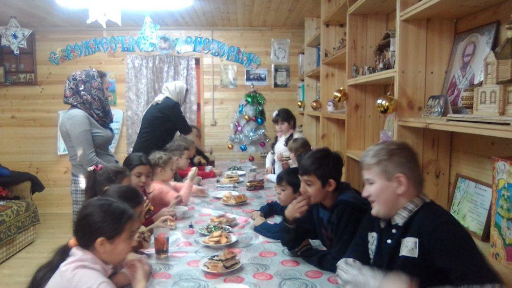 В Городище состоялся открытый урок с участием воспитанников двух воскресных школ района