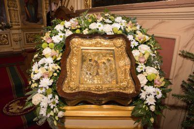 В канун Крещения Господня митрополит Серафим совершил всенощное бдение в Успенском кафедральном соборе