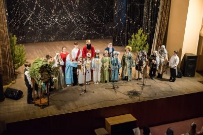 В Пензе состоялся Рождественский фестиваль воскресных школ