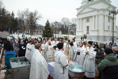 Митрополит Серафим возглавил торжества по случаю Крещения Господня