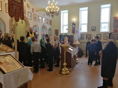 В храме Петра и Февронии состоялась экскурсия для учащихся школы №56