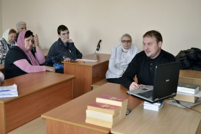 В Никольском храме в Терновке состоялся православный лекторий
