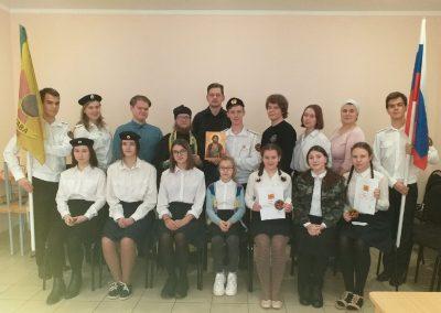 Состоялся торжественный сбор Пензенской православной дружины «Застава»