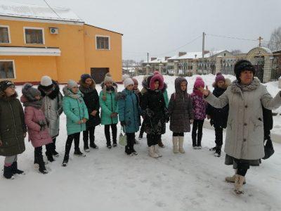 Покровский архиерейский собор посетили учащиеся школы №5