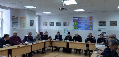 Священник Виктор Сторожев принял участие в заседании Совета Атаманов Пензенского отдельского казачьего общества