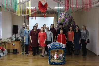 Православная молодежь поздравила воспитанников социально-реабилитационного центра для детей и молодых инвалидов с новогодними праздниками