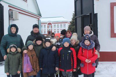 Воспитанники воскресной школы села Симбухово совершили паломничество в Троице-Сканов женский монастырь