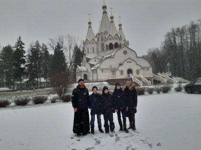 На новогодних каникулах добровольцы НОРД «Русь» посетили г. Москву