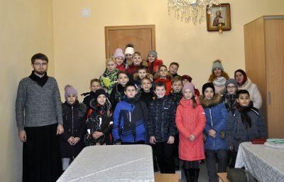 Священник встретился с учениками средней школы №60 г. Пензы