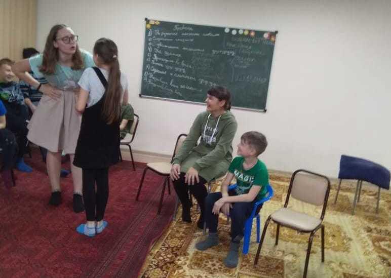 Новости из зимнего православного лагеря «Маленький принц»