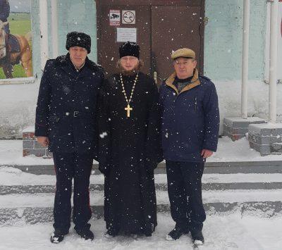 Священник Виктор Сторожев ознакомился с работой казачьих хуторов Земетчинского, Вадинского и Пачелмского районов