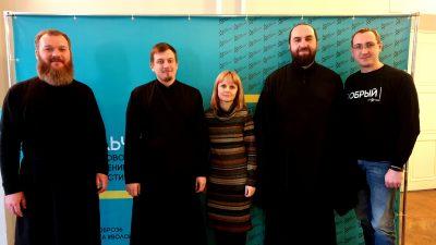 Сотрудники молодежного отдела Пензенской епархии посетили Воронежскую митрополию