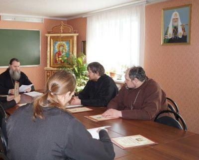 Состоялось собрание духовенства Городищенского благочиния Пензенской епархии