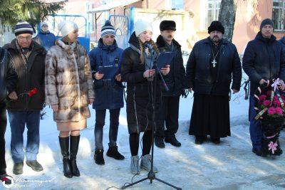 Священник Александр Рысин принял участие в митинге в честь памяти погибших воинов — интернационалистов
