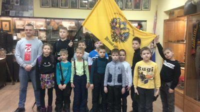 Воспитанники воскресной школы «Донские» посетили Музей русской армии