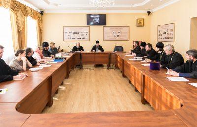 В Пензенской духовной семинарии состоялось расширенное заседание коллегии епархиального отдела по религиозному образованию и катехизации