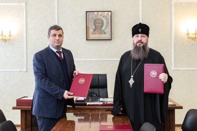 Пензенская духовная семинария и Национальная арабо-российская ассоциация подписали договор о сотрудничестве