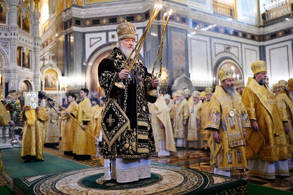 Митрополит Серафим сослужил Святейшему Патриарху Кириллу на Литургии в одиннадцатую годовщину патриаршей интронизации