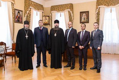 Митрополит Серафим встретился с представителями Ливанской Республики