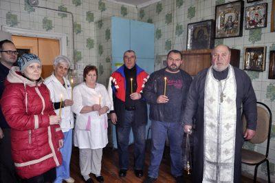 Иерей Александр Хохлов посетил Дом ночного пребывания