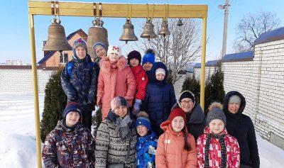 Воспитанники отряда краеведов «Пешая слобода» посетили самые старые храмы города Пензы