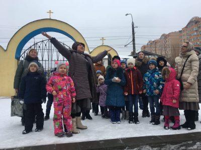 Воспитанники воскресной школы при архиерейском подворье посетили Покровский собор