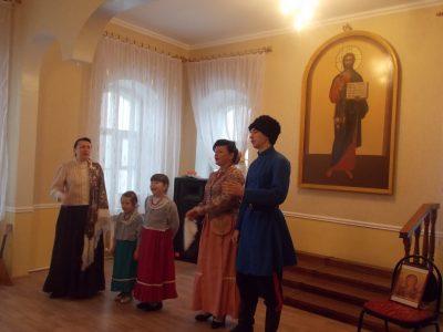 День защитника Отечества отпраздновали в Духовно-просветительском центре при Покровском архиерейском соборе