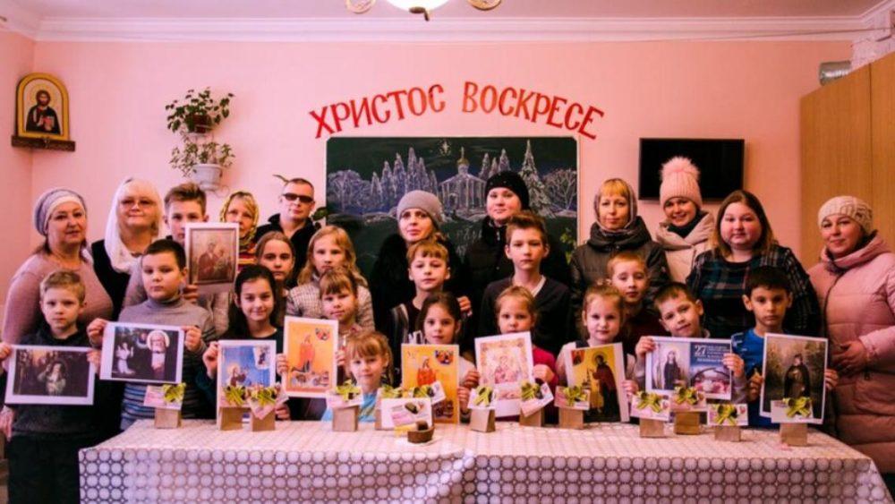 В воскресной школе «София-Премудрость Божия» состоялся урок памяти, посвященный окончанию блокады Ленинграда